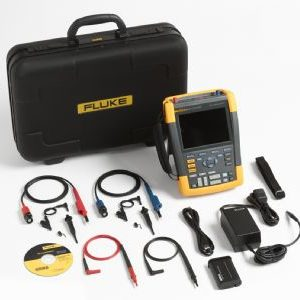 Fluke-190/202/AU/S ScopeMeter 2 channel 200mhz colour with acc kit