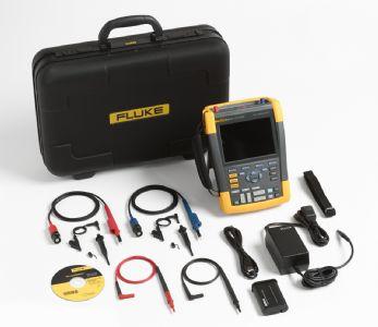 Fluke-190/202/AU/S ScopeMeter 2 channel 200mhz colour with acc kit