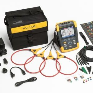 Fluke 435-II three-phase power quality analyser with clamps