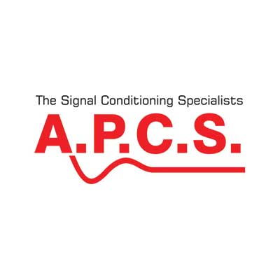 The Signal Conditioning Specialists (A.P.C.S) logo