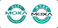 MARC Moxa and MTSC Moxa logos